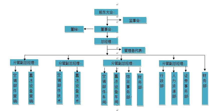 公司组织架构图片